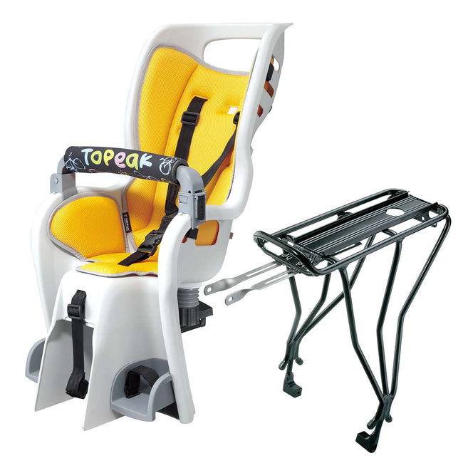 Topeak BabySeat II w/disc mount rack