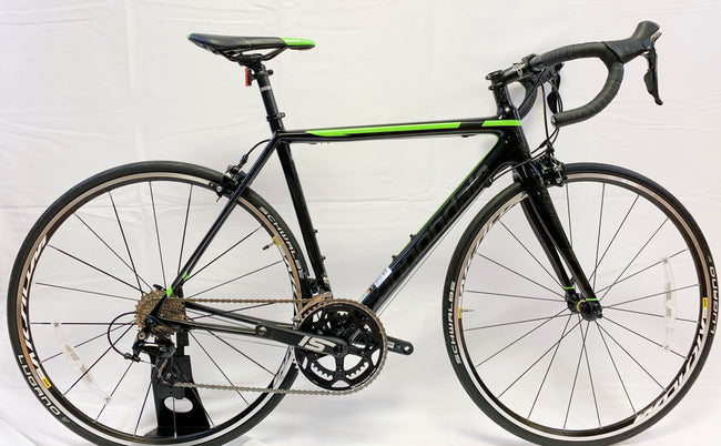 Cannondale Super Six EVO 105,  52cm  Black/Green