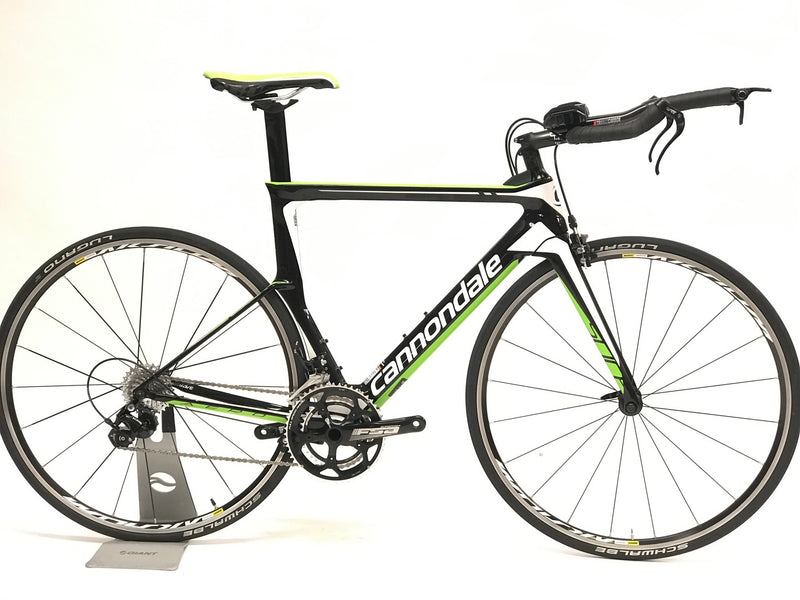 Cannondale SLICE Tri Bike 54, 105 DEMO