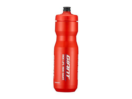 GIANT PourFast DoubleSpring Water Bottle 25oz Red
