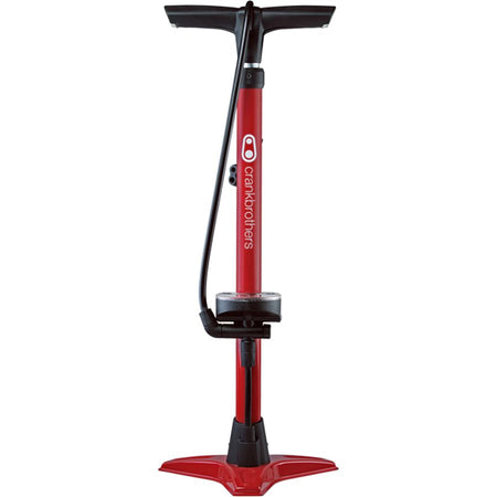 Crank Brothers Gem Floor Pump Red