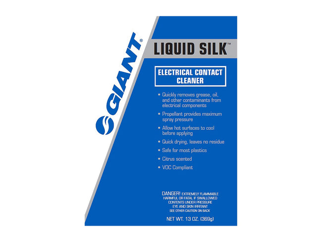 Giant Liquid Silk Electrical Contact Cleaner 13oz Aerosol