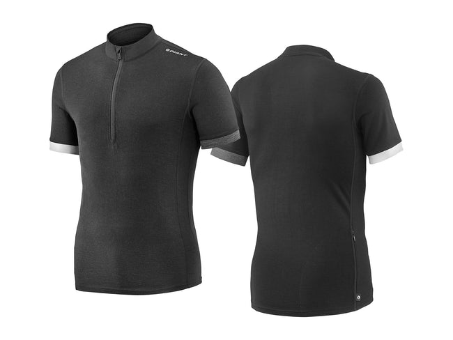 Giant Col Merino Wool Short Sleeve Jersey