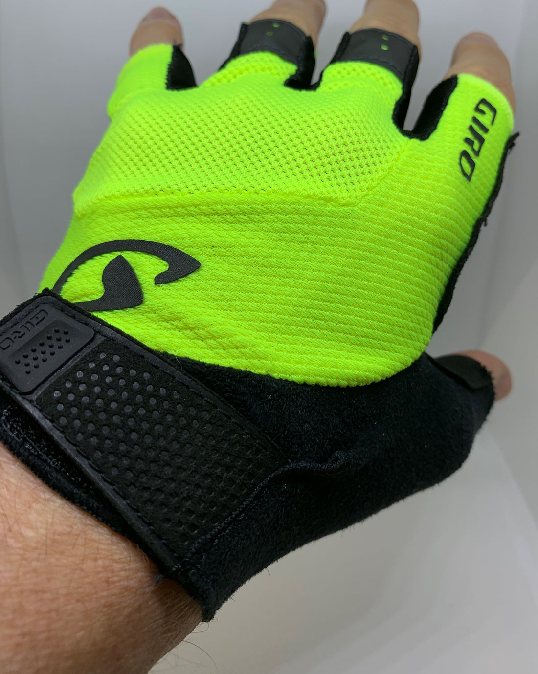 Giro Bravo Cycling Gloves  Men's Yellow Medium