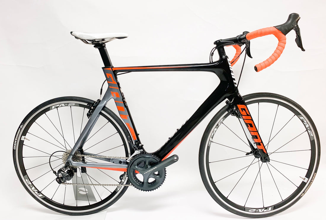 Giant Propel Adv 1 L Black/Orange Ultegra