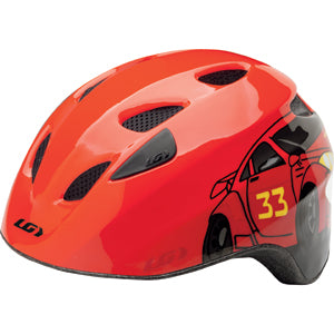 Louis Garneau Helmet Brat Helmet Red Univ Child