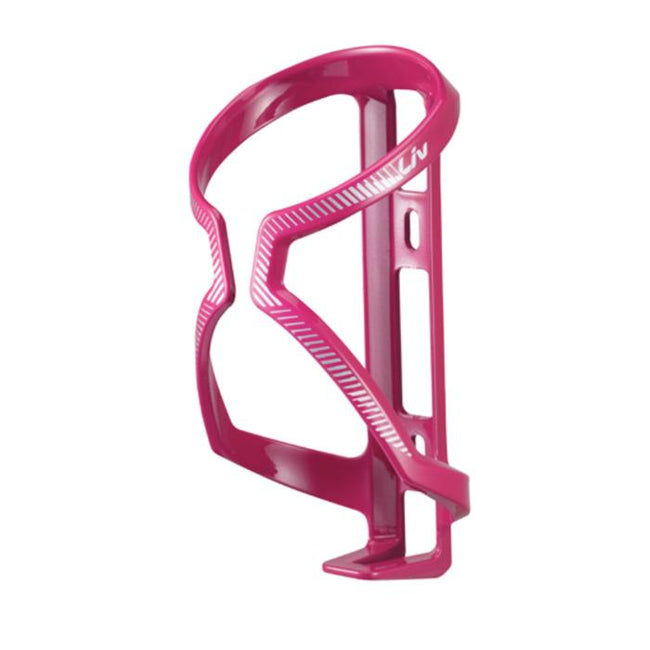 LIV AirWay Sport Water Bottle Cage Pink/White/Silver