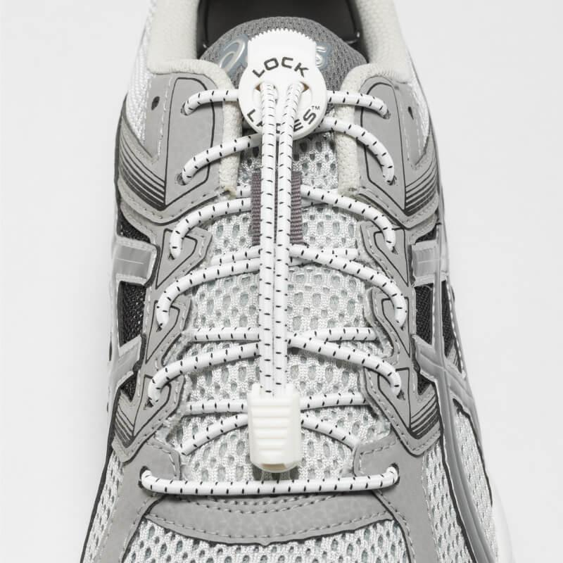 Lock Laces: One Size Fits All, White
