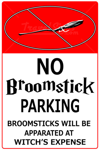 No Broom Stick Parking