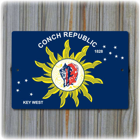 Key West - Conch Republic Sign