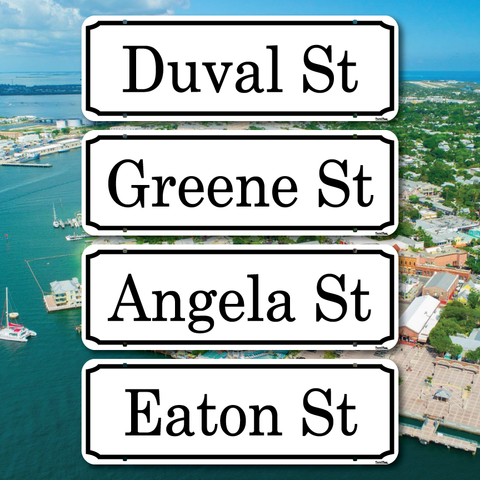 Key West Street Signs