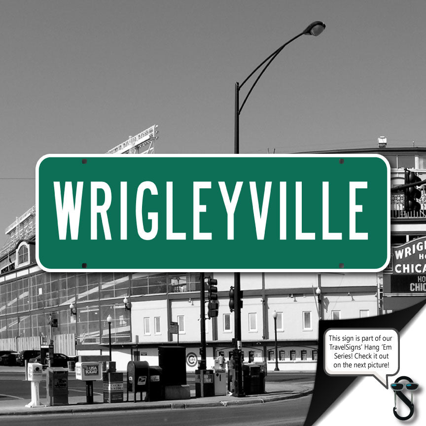 Wrigleyville Street Sign