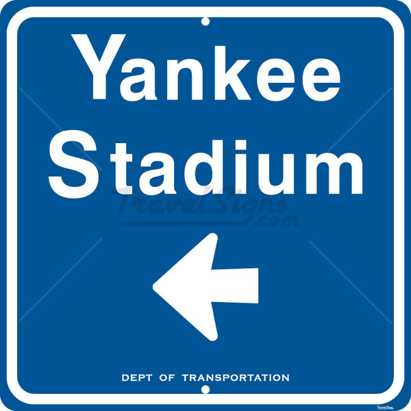 Yankee Stadium Directon Arrow Sign