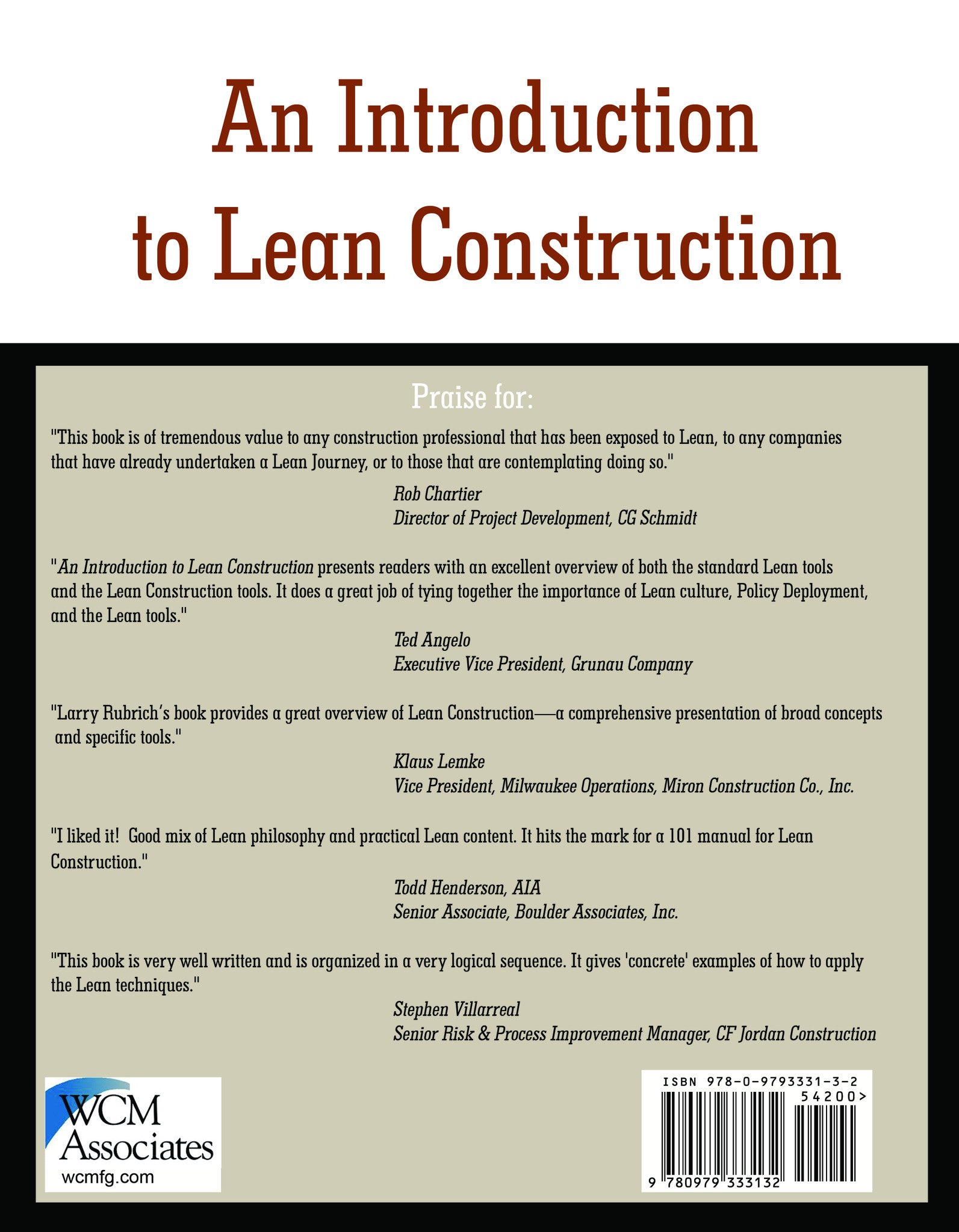 An Introduction to Lean Construction - Applying Lean to Construction  Organizations and Processes