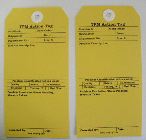 TPM Action Tags
