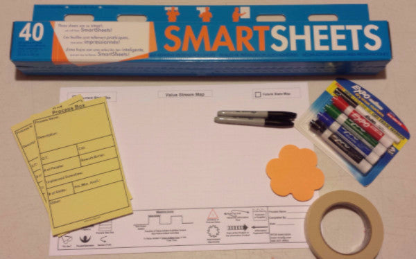Value Stream Mapping Kit