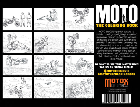 MOTO the Coloring Book – Dirt House Distribution