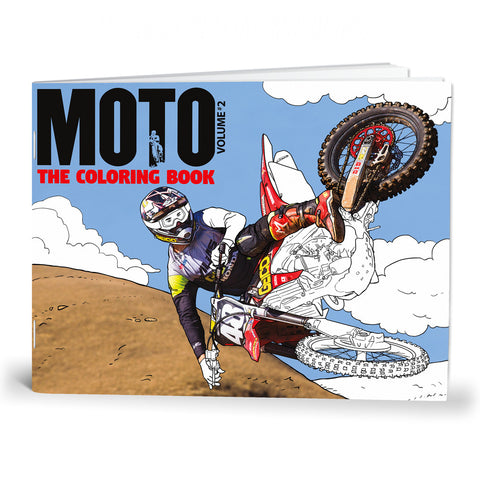 MOTO the Coloring Book Volume 2