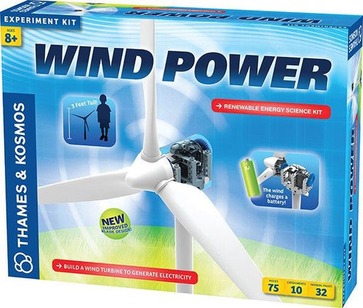 THK623913 Wind Power Renewable Energy Science Kit