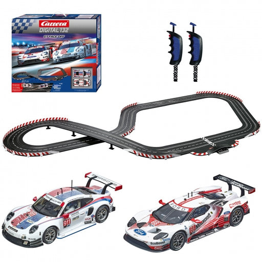 car30012 GT Face Off, Digital 132 Set w/Lights