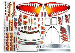 TRA4913X Decal sheet, Jaws T-Maxx
