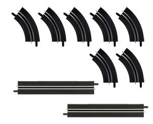 CAR61657 Single-lane bends / Straight section extension set