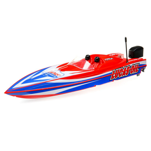 "PRB08044T2 17"" Power Boat Racer Deep-V RTR, Lucas Oil"