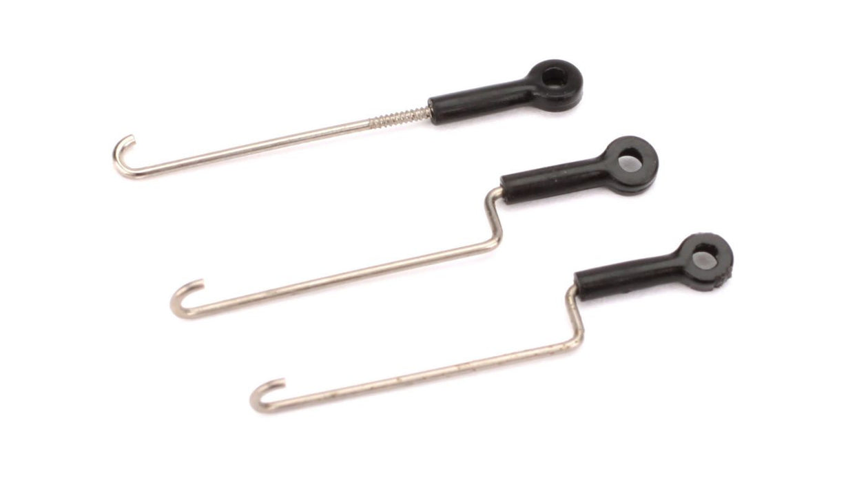 BLH3308 Servo Pushrod Set with ball links: nCP X