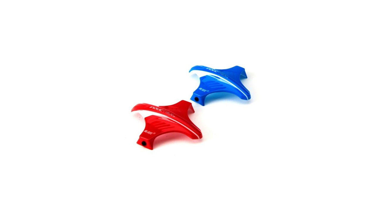 BLH8704 Canopy Set, Red & Blue: Inductrix