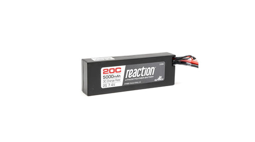 DYN9004EC  Reaction 7.4V 5000mAh 2S 20C LiPo Hard Case: EC3