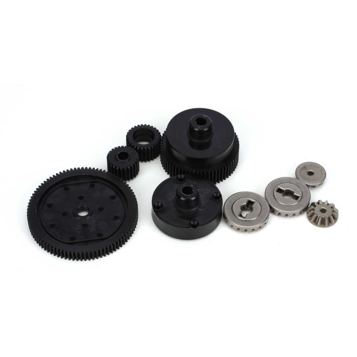 ECX1022 Transmission Plastic Gear Set: 1:10 2wd All-In Store Only