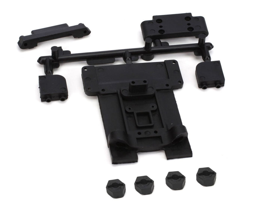 ECX1092 Fr/R Suspension Mount Set: 1:10 2wd Circuit, Boost-In Store Only