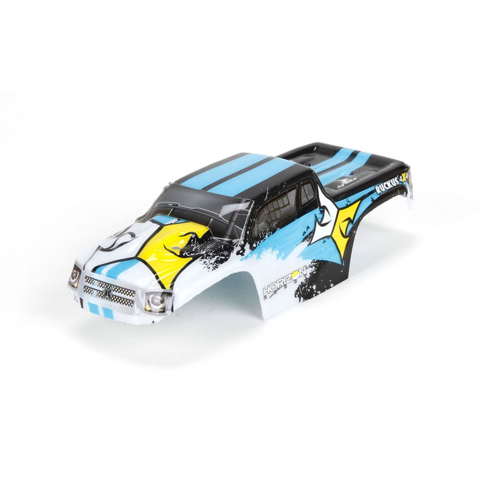 ECX200005 Body Set, Decorated, Blk/Wht: 1:24 Ruckus-In Store Only
