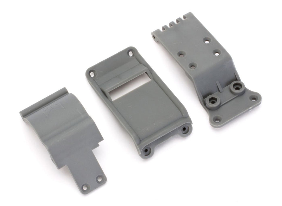 ECX2007 Skid Plate Set: 1:10 2wd Ruckus, Torment-In Store Only