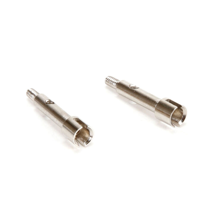 ECX202027 Axle Set (2): 1:24 4WD Temper-In Store Only