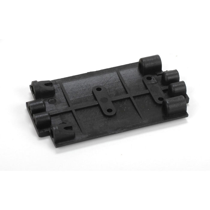 ECX211006 Transmission Skid Plate: 1/18 4WD Temper-In Store Only