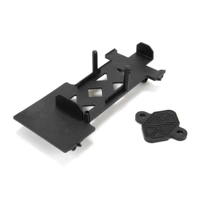 ECX211007 Battery Mount: 1/18 4WD Temper-In Store Only