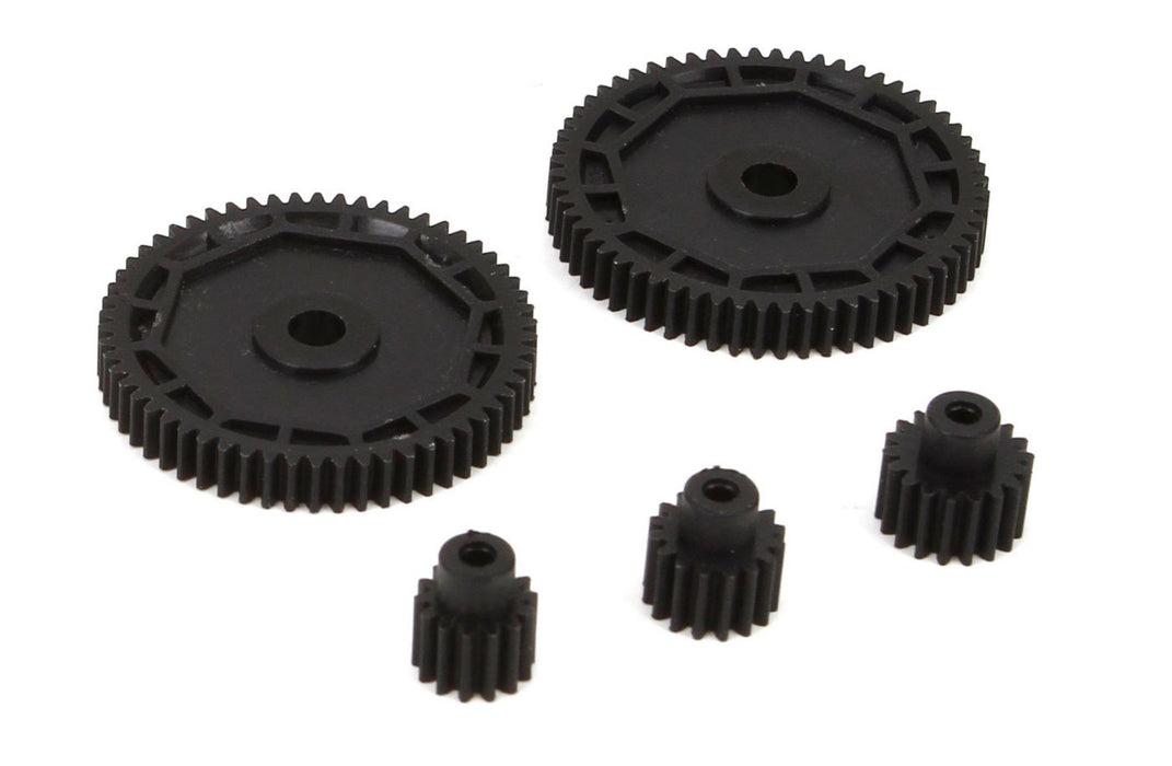 ECX212002 Pinion & Spur Gear Set: 1/18 4WD All-In Store Only