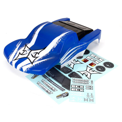 ECX230011 Body, Blue/White: BL Torment-In Store Only