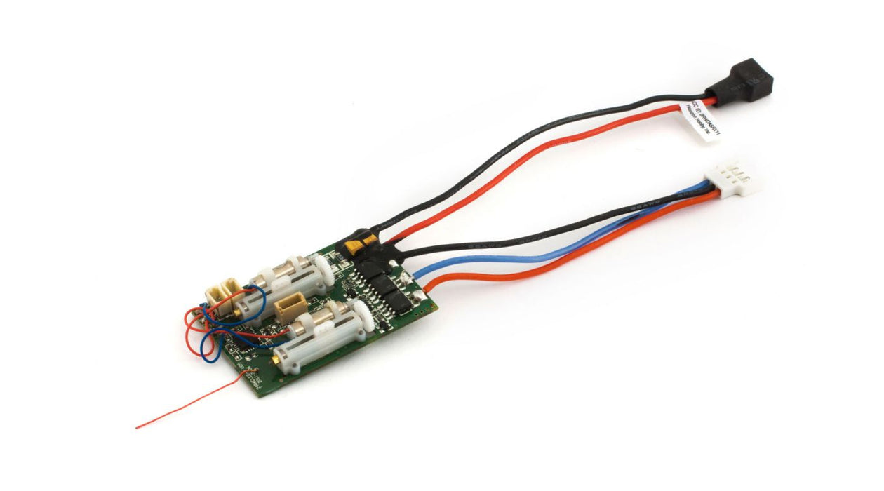 EFLU4864 DSM2 6 Ch Ultra Micro AS3X Receiver BL-ESC