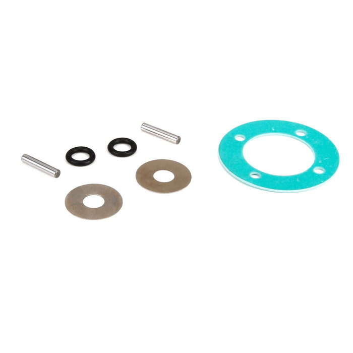 LOS252009 Differential Rebuild Kit (1): 1:5 4wd DB XL