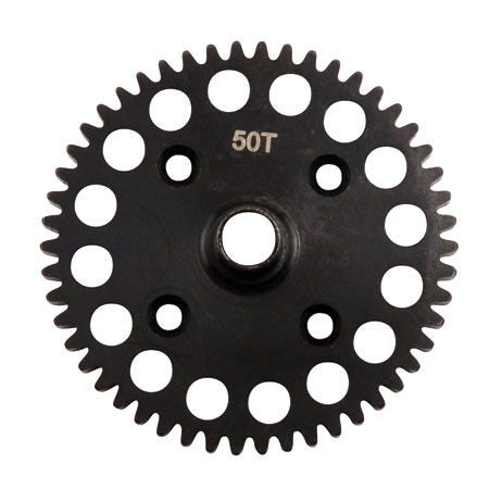 LOSA3555 Center Diff 50T Spur Gear, Lightweight: 8B/8T