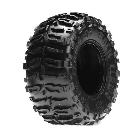 LOSA7682B Front/Rear Rock Claws 2.2 Tires w/ Foam, Blue (2)