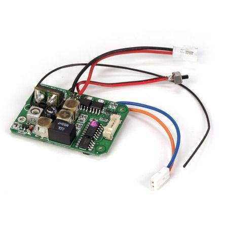 LOSB0843 AM Receiver/ESC Unit: Micro SCT, Rally, Truggy