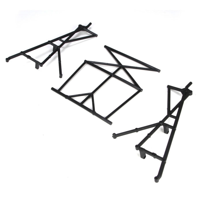 LOSB2579 Rear Top & Side Cage Set: 5IVE-T