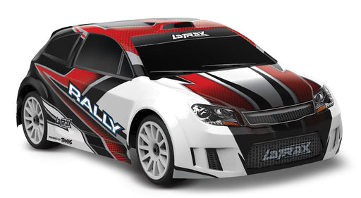 Tra75054-5 LaTrax Rally 1/18 Scale 4WD Rally Car RED