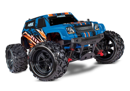 TRA76054-5 BLUEX LaTrax Teton 1/18 Scale 4WD Monster Truck