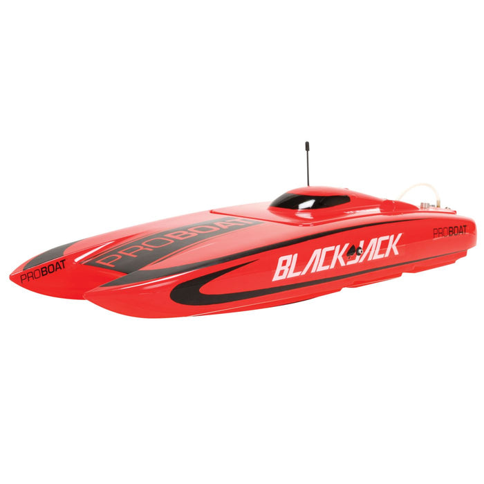 PRB08007 Blackjack 24-inch Catamaran Brushless: RTR