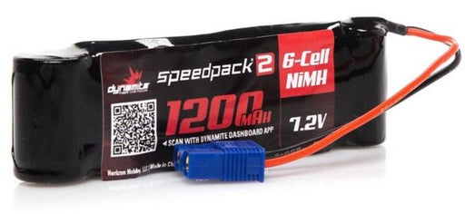 DYNB2473 Speedpack2 7.2V 1200mAh 6C NiMH, Long, MINI-S