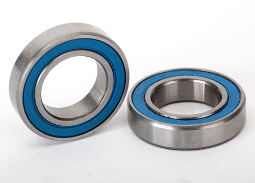 TRA5101  Ball bearings, blue rubber sealed (12x21x5mm) (2)